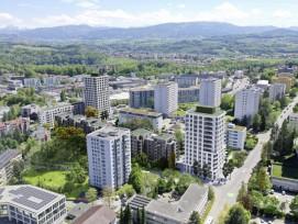 D'ici 2025, 700 habitants pourront emménager à la Vignettaz dans le nouveau quartier baptisé FriGlâne.
