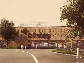 Un nouveau bâtiment compact est à l'étude à l'entrée ouest du musée en plein air de Ballenberg.