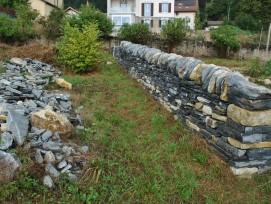 Murs en pierre sèche 2