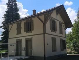 La maisonnette est le bâtiment historique de la Bâtie à Genève