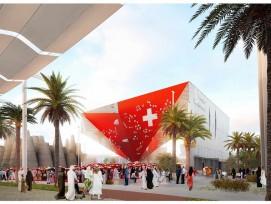"""Pavillon suisse à l'Expo Dubai 2020 dénommé """"Reflections"""""""