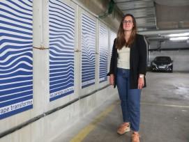 les panneaux muraux de la spin-off Enerdrape sont en phase de test dans le quartier de Sébeillon à Lausanne.