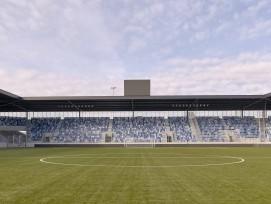 Le stade de la Tuilière à Lausanne a remporté le troisième prix.