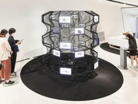 IA machine designs new Swiss Alpine architecture at the Seoul Biennale