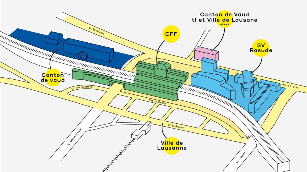 Gare de Lausanne et abords 2