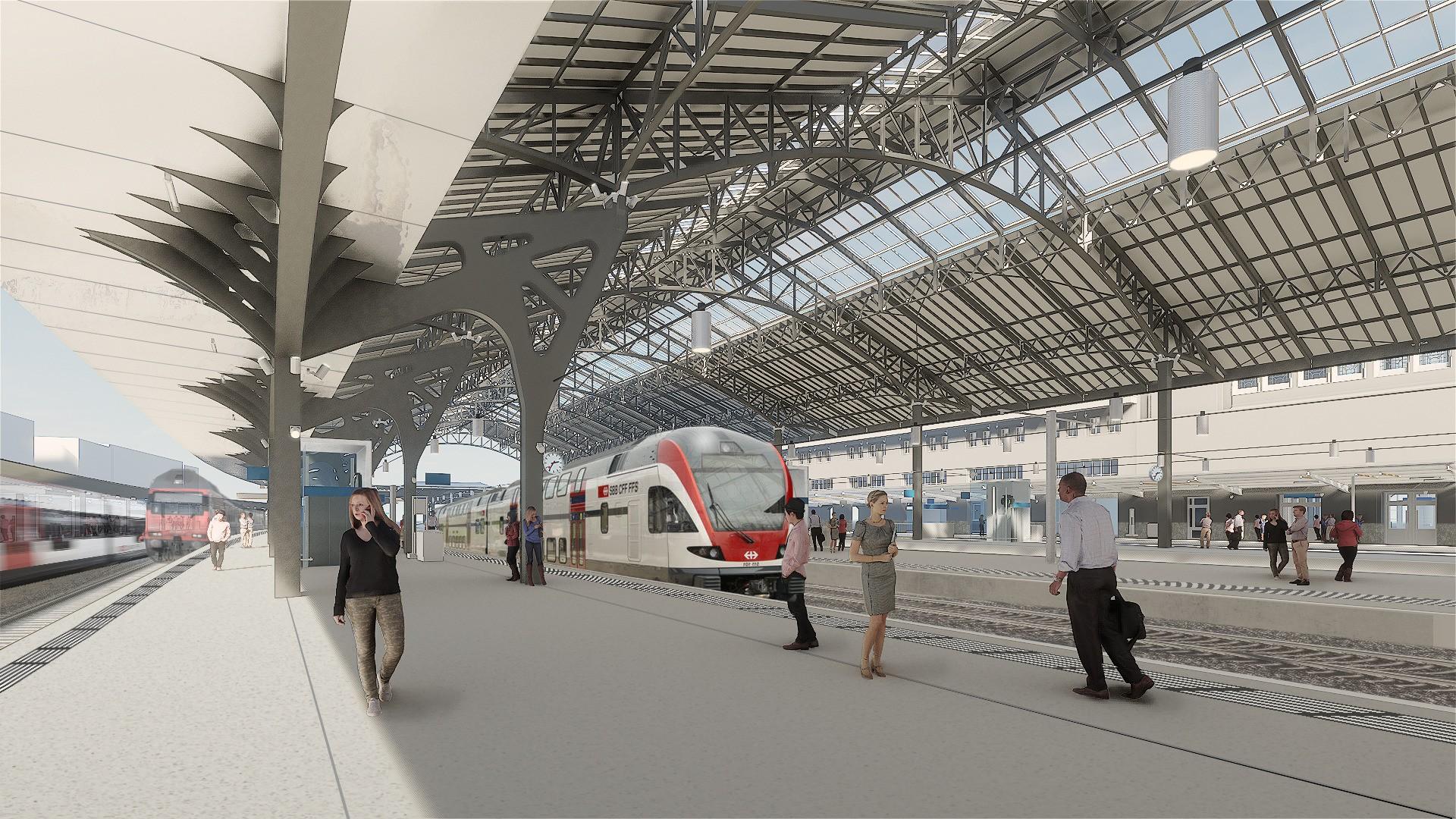 Gare Lausanne 5