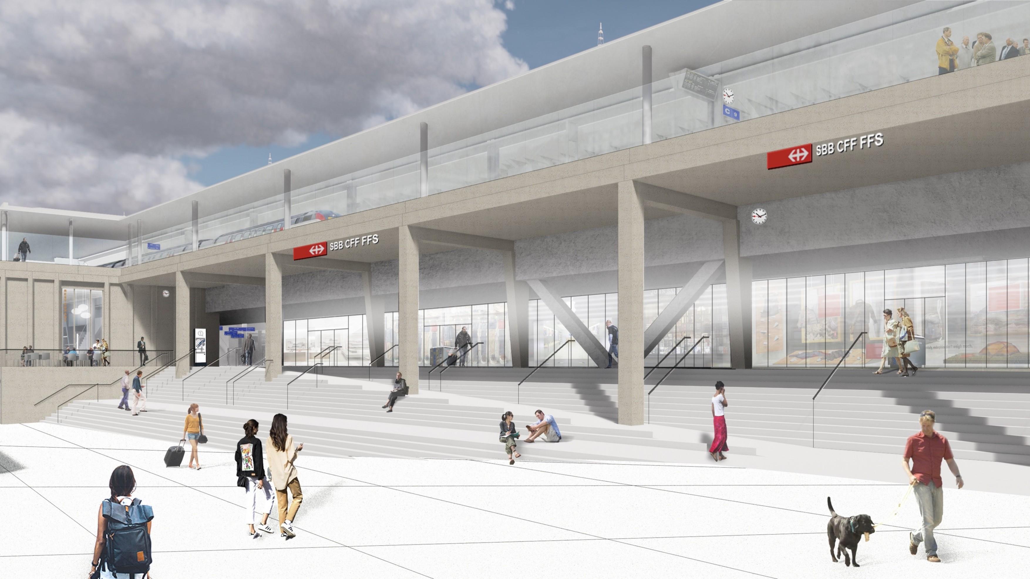 Gare Lausanne 6