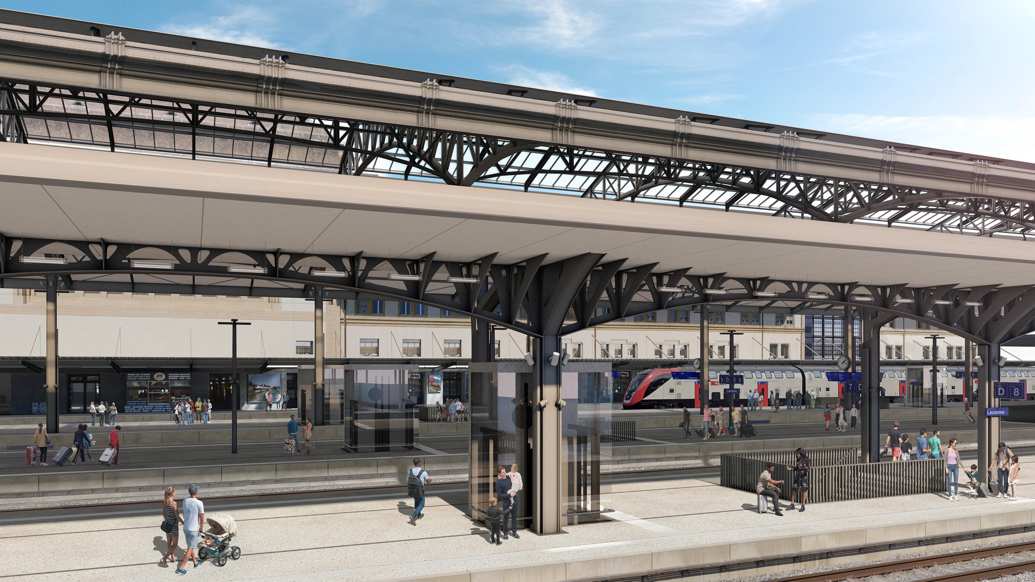 Gare Lausanne 7