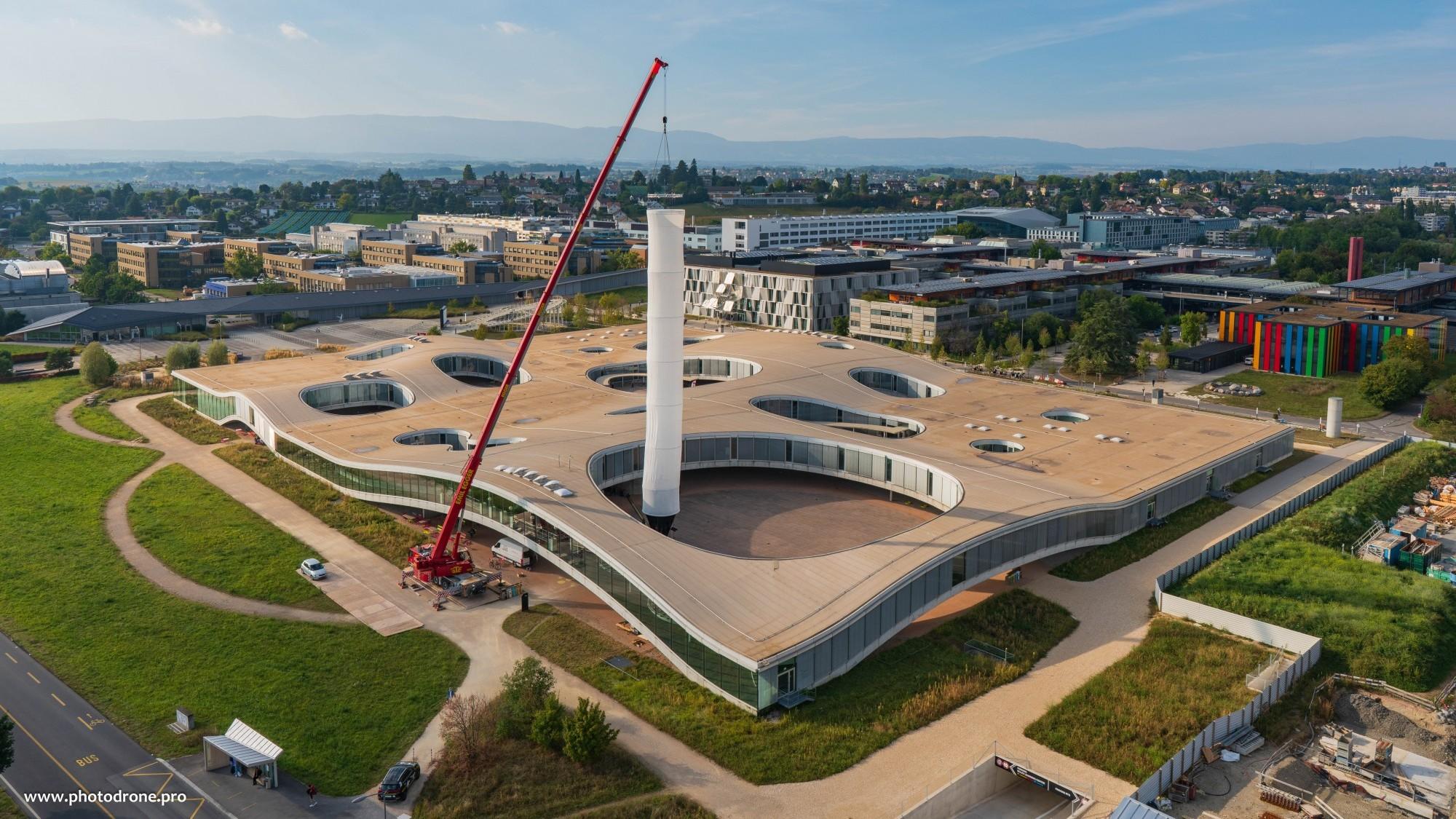 Rohrwerk_EPFL_ Rolex learning Center