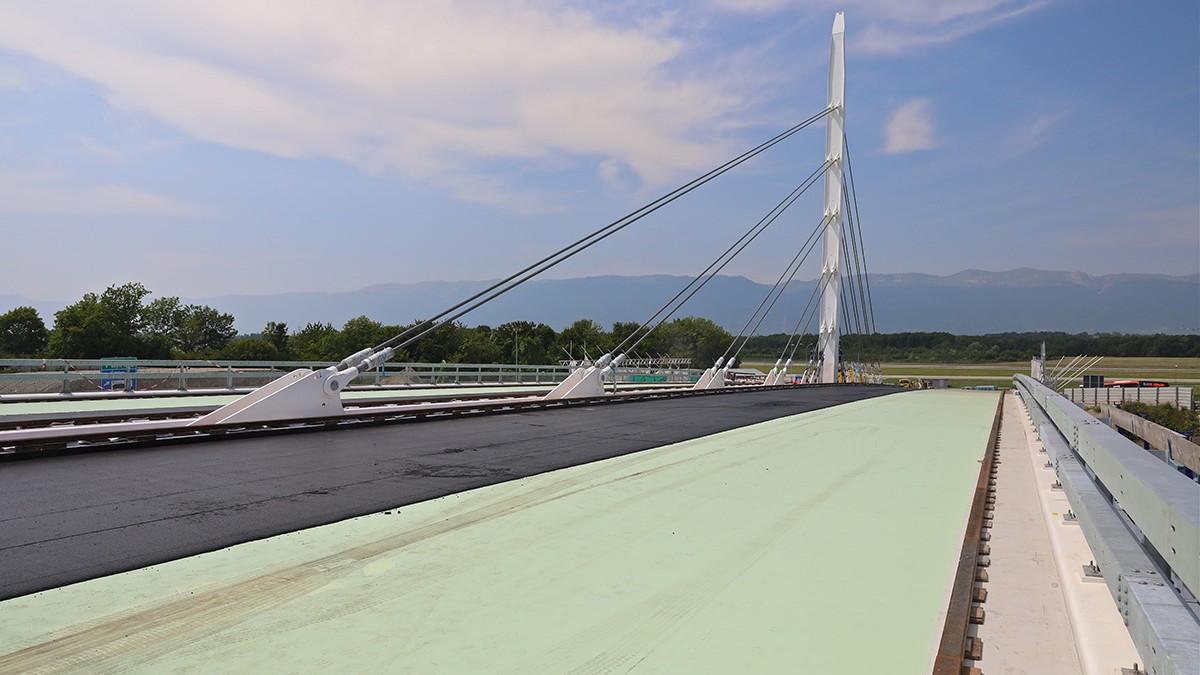 Pont haubané gd saconnex 1