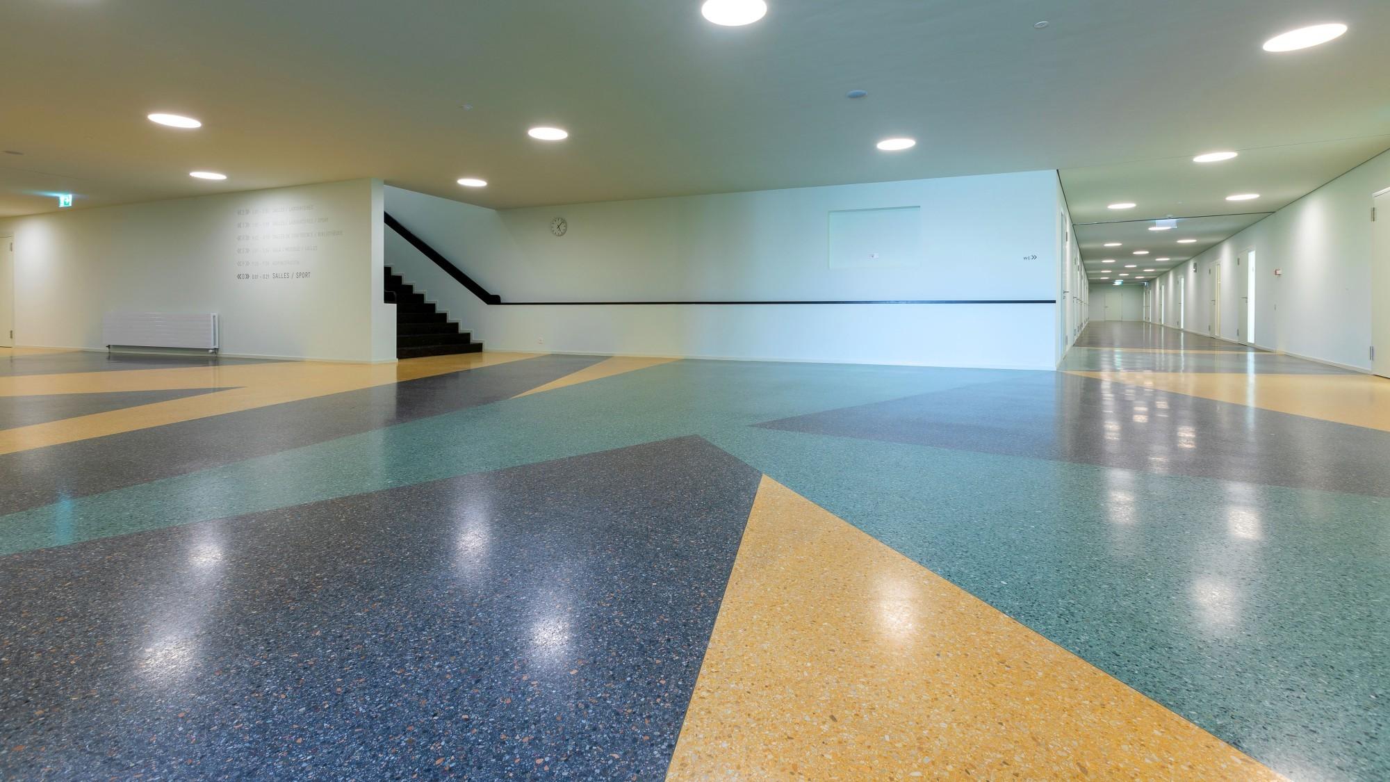 Une nouvelle extension durable construite au Gymnase de la Broye.